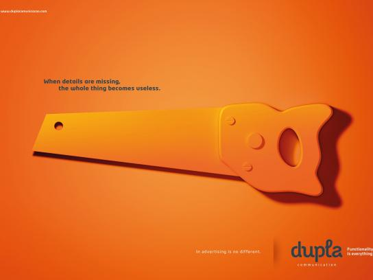 Dupla Print Ad -  Missing, 3