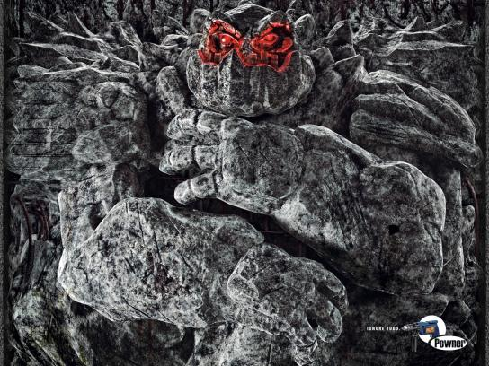 Powner Print Ad -  Monster