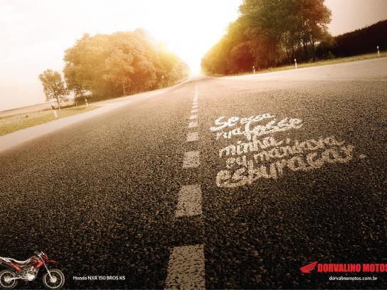 Honda Print Ad -  Highway