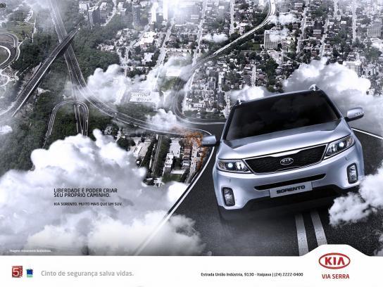 KIA Print Ad -  Freedom, 1