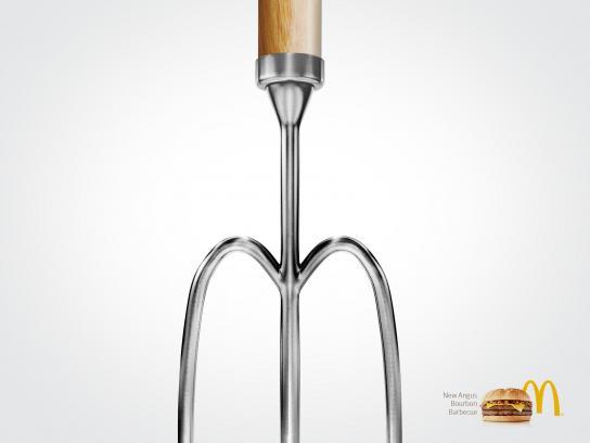 McDonald's Print Ad -  Angus