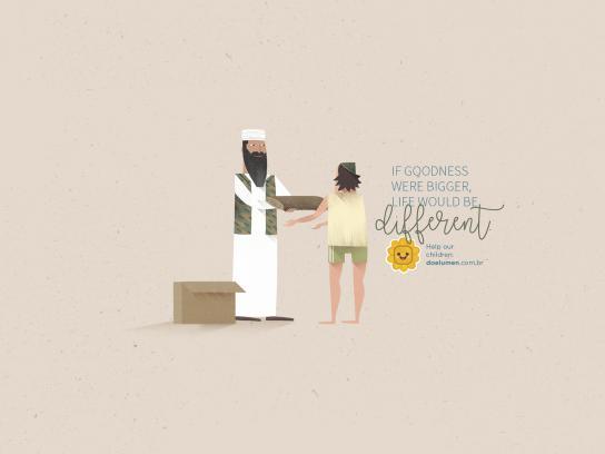 Lumen et Fides Print Ad - Bin Laden