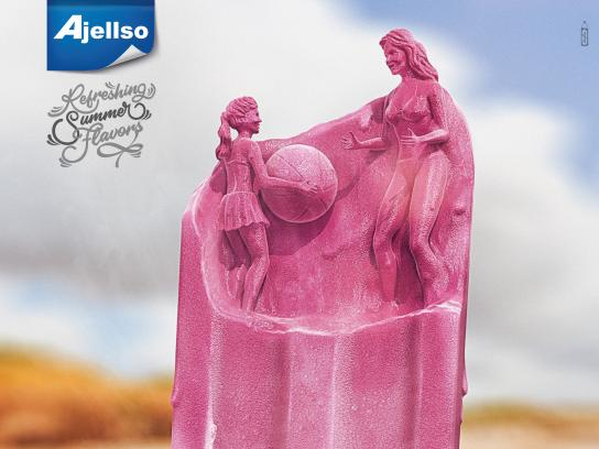 Ajellso Print Ad - Refreshing Summer Flavors , 1