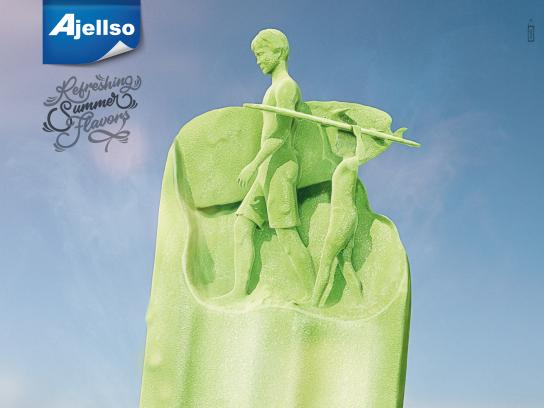 Ajellso Print Ad - Refreshing Summer Flavors, 2