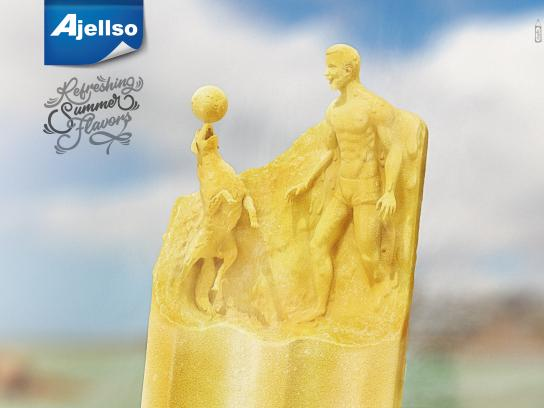 Ajellso Print Ad - Refreshing Summer Flavors, 3