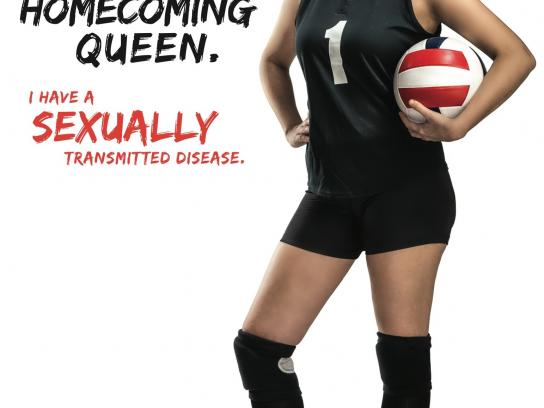 Get Checked Omaha Print Ad -  Homecoming queen