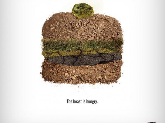 Isuzu Print Ad -  Hamburger