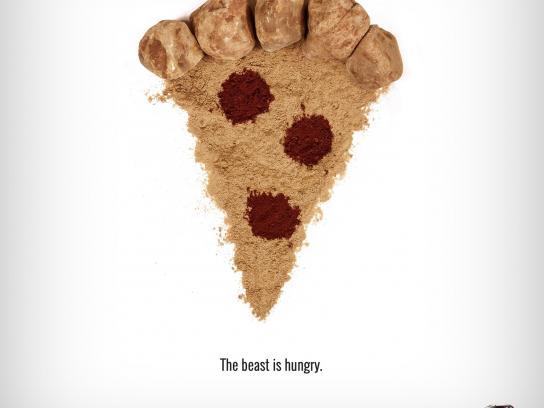Isuzu Print Ad -  Pizza
