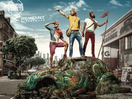 Breakbounce Streetwear Print Ad -  Take2thestreets, 1