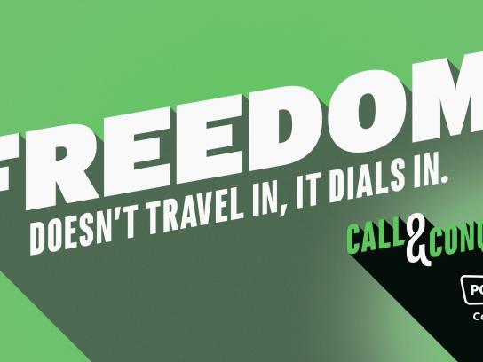 Powwownow Outdoor Ad - Freedom