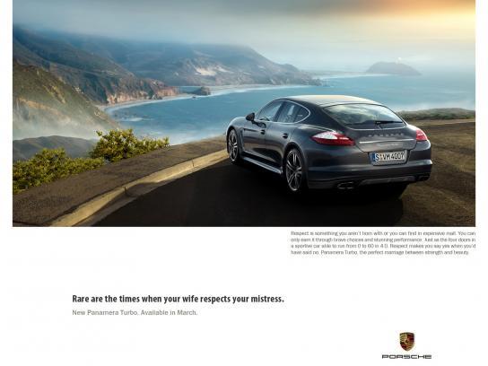 Porsche Print Ad -  Perfect, 3