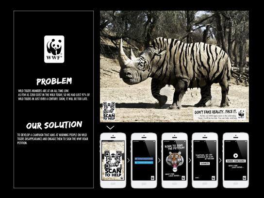 WWF Digital Ad -  Wild tigers