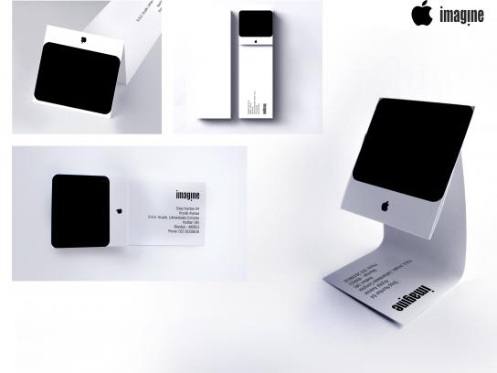 Apple Direct Ad -  iMac Business Card