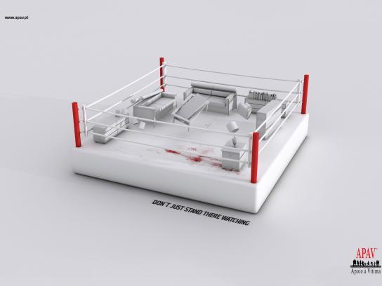 APAV Print Ad -  Living room