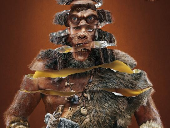Snickers Print Ad -  Apeman