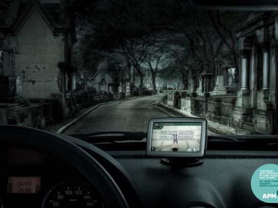 Associacao Paulista de Medicina Film Ad -  GPS, Cemetery