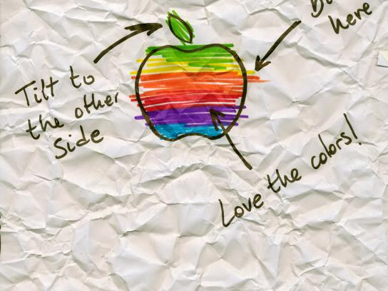 Sharpie Print Ad -  Apple
