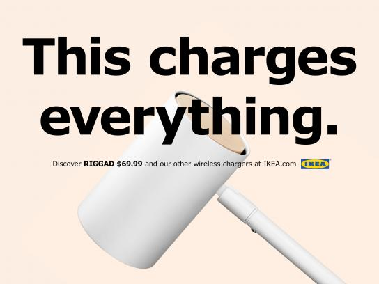 IKEA Print Ad - This Charges Everything