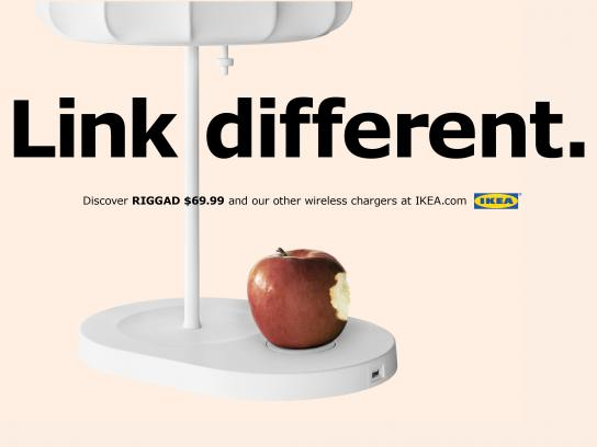 IKEA Print Ad - Link Different
