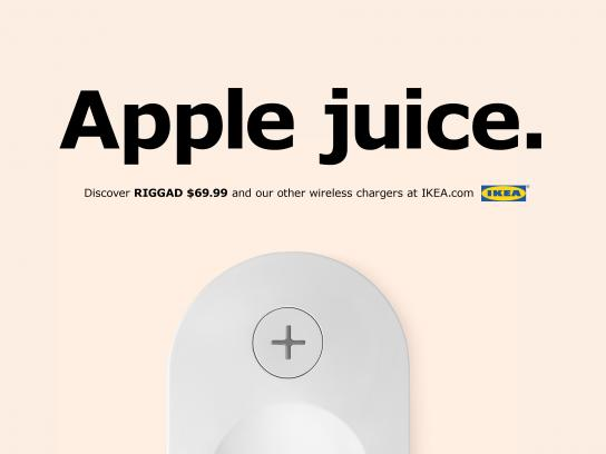IKEA Print Ad - Apple Juice