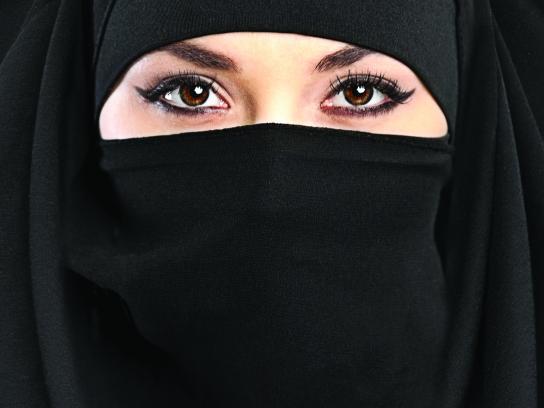 April Print Ad - The burka