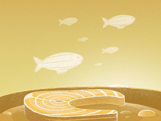 Arçelik Print Ad - Arcelik Range Hoods - Fish