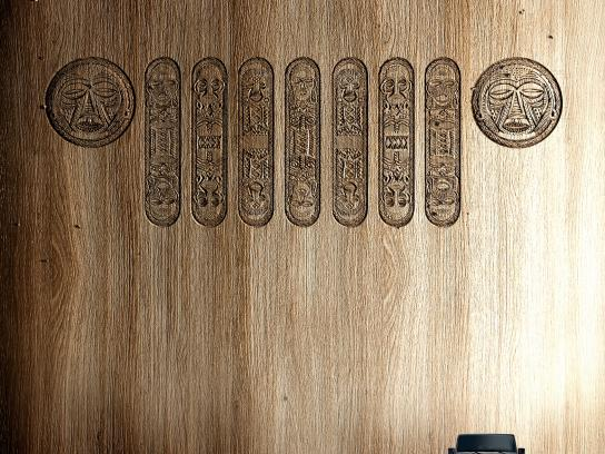 Jeep Print Ad -  Carved for Angola