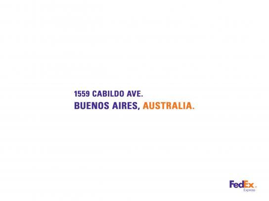FedEx Print Ad - Argentina