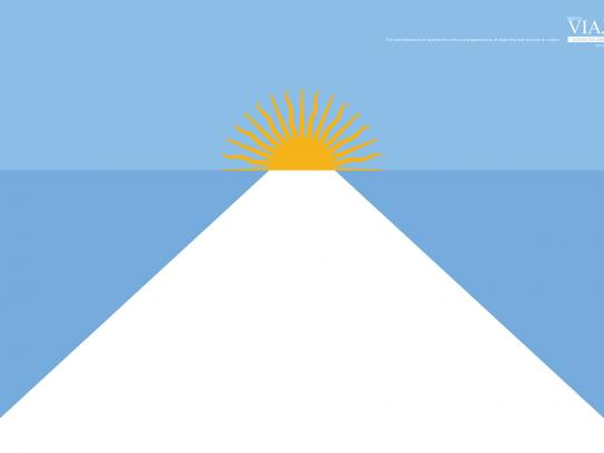 Editora Europa Print Ad - Flags - Argentina