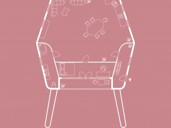 Bonami Print Ad - Armchair