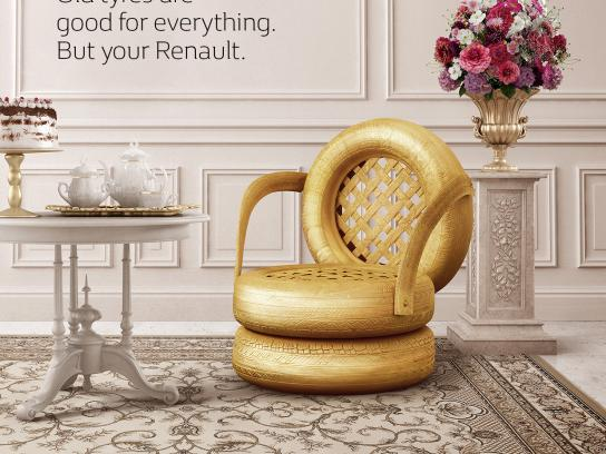 Renault Print Ad -  Chair