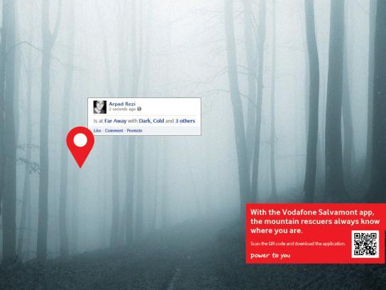 Vodafone Print Ad -  Arpad