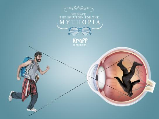 Kraff Optical Film Ad -  Mythopia, 1