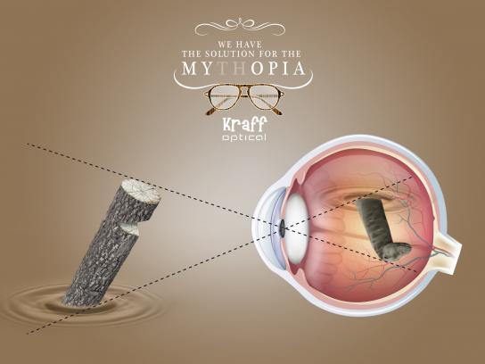 Kraff Optical Print Ad -  Mythopia, 3