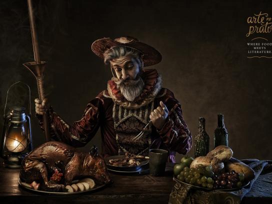 Arte No Prato Print Ad -  Don Quixote