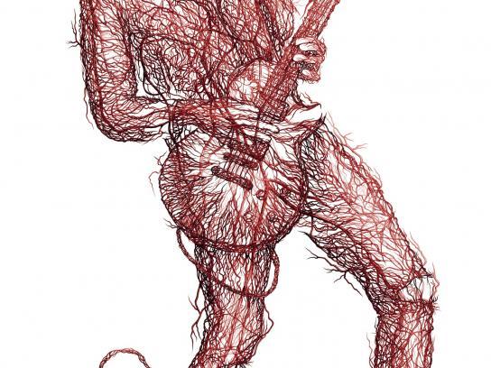 Skullcandy Print Ad -  Arteries