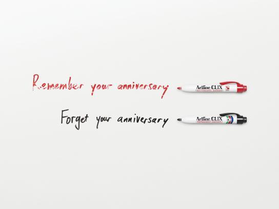 Artline Print Ad -  Anniversary