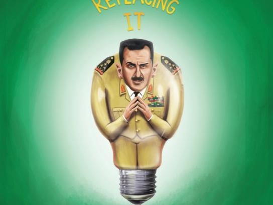 Lighting Warehouse Print Ad -  Asad
