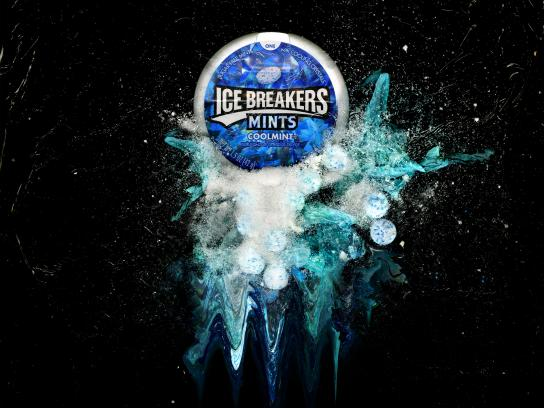 Icebreakers Print Ad - Refreshingly Cool