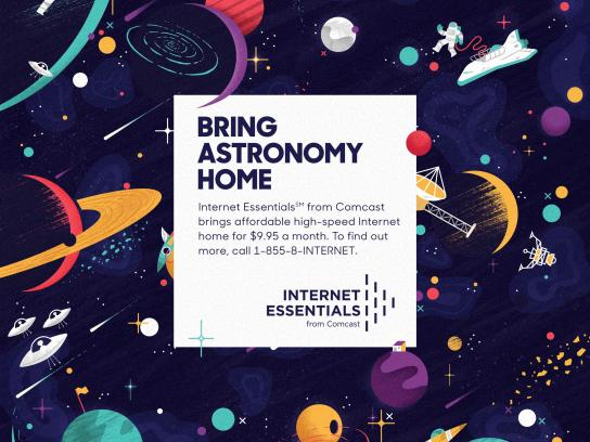 Comcast Print Ad -  Astronomy