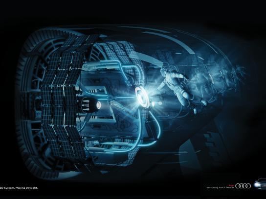 Audi Print Ad -  Astronaut