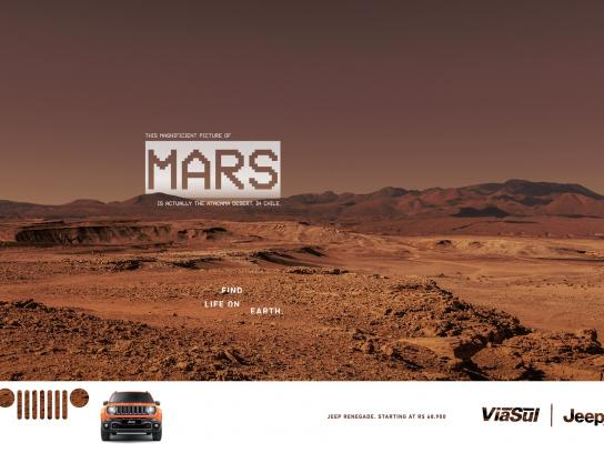 Jeep Print Ad -  Atacama