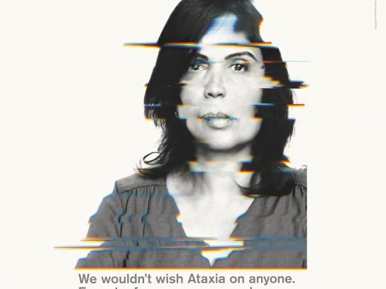 Ataxia UK Print Ad -  Jaisheer