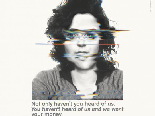 Ataxia UK Print Ad -  Lali