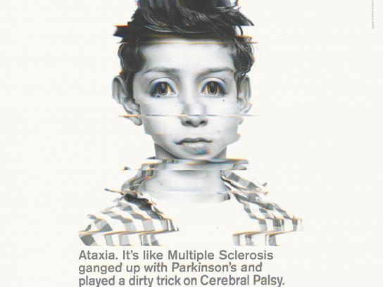 Ataxia UK Print Ad -  Orlando