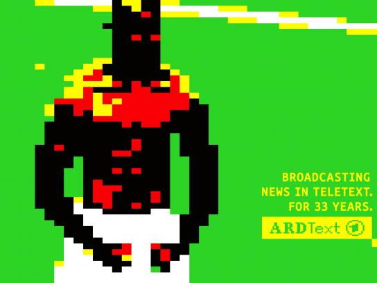 ARD Print Ad -  33 years of ARD Teletext, 3