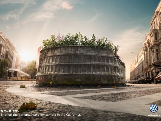 Volkswagen Print Ad - Colosseum