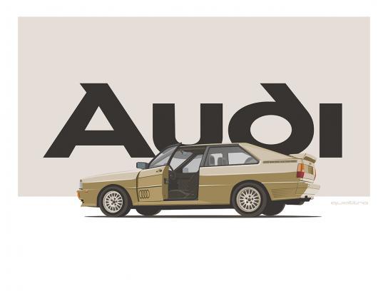 Audi Print Ad - Audi Heritage Poster Series, 1