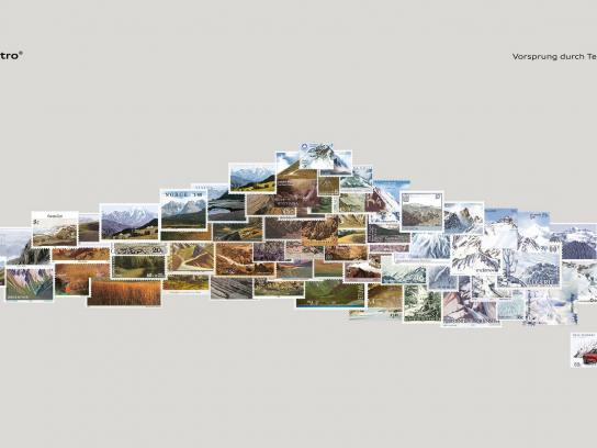 Audi Print Ad -  Mountain