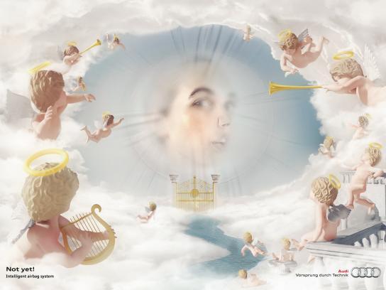 Audi Print Ad -  Heaven